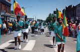 Colorguard in Juneteenth Parade