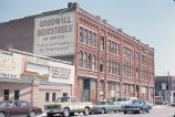 Edbrooke Commercial/Shorthorn/Goodwill Industries Building, view of front