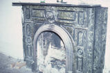 Dr. John Elsner House, interior fireplace
