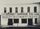 Delaney Carriage Company Building, historic photograph of front