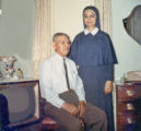 Sister Pauline Apodaca and her father
