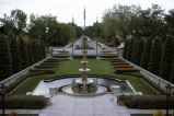 Broadmoor Hotel fountain and garden