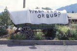 Covered wagon, Ghost Town Museum, Colorado Springs