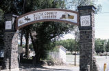 Entry Arch, Delta County Fair Grounds, Colo.