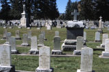 Sisters of Loretto monument and grave markers, Mount Olivet Cemetery, Golden, Colo.