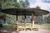 Cheesman Park rustic shelter