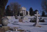 Fairmount Cemetery and mausoleum