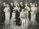 Felix Gallegos and Florence Torres Gallegos wedding party