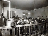 Costilla County courtroom