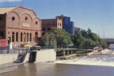 Forney Transportation Museum and South Platte River formerly known as the Denver Tramway Power...