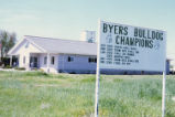 Byers Bull Dogs billboard