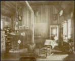 Interior of Wapiti Mining Company's Office