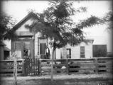 Meeker couple and house