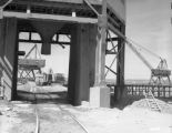 John L. Martin dam - loading chute and concrete plant