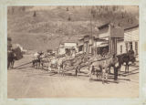 Pack train, Silverton