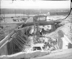 View of construction of Alameda underpass