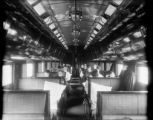 Colorado Midland Railway interior of Pullman Car