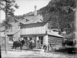 General store and Black Wonder Mill