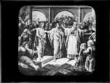 Art Bible illustrations Jesus trial