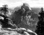 Yosemite Valley, the Sierras from Glacier Point