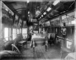 Interior of Detroit Photographic Co's car