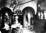 Interior view of a Leadville Victorian parlor