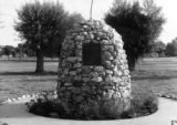 Conejos County, Pioneer Monument on Mormon Church ground, Manassa