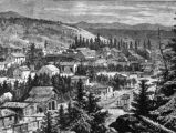 View of a part of Leadville in the summer of 1880 - when the carbonate camp was about two years old