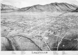 Birds Eye View of Leadville Lake County, Colo. 1879