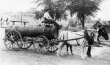 People's water wagon supplied water for the city of Rifle until the water system was built