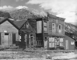 The Famous Stark store in St Elmo Colo. also Western Union Telegraph Office, U. S. Post Office and...