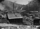 W. H. Wood sawmill at West Portal, Colorado (earlier known as Idlewild - later became Winter Park)