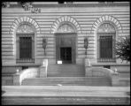 Entrance to U.S. Mint, Denver