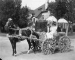 Parade entry, Flower Carnival