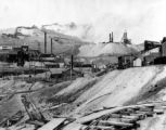 View of two mines at Cripple Creek, Colo.