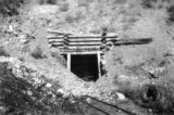Entrance to mine tunnel, Lincoln Co.