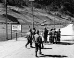 Men from two divisions meet at Resia Pass, Austrian-Italian border