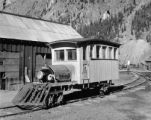 Sunnyside mine, Eureka, Colo., miner's transportation into tunnel