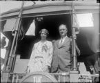 Franklin Delano and Eleanor Roosevelt