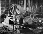 Compression (two stage) drive on Waldorf Mine Waldorf, Colo.