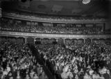 Audience at the Municipal Auditorium