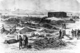 Colorado, the late outbreak and massacre at the White River Agency, the ruins after the fire and...
