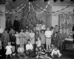 Group of children at Xmas party