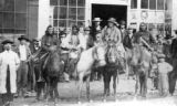 Ute Indians & ponies taken from life at Black Hawk C. T.