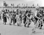 Harvest Dance. Santo Domingo Pueblo.