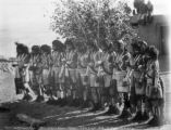 The Antelope men. Moki Snake Dance Oraibi