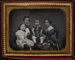 Heiram and Alida Burton Elsie and Smith Payne Burton Children