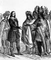The treaty with Massasoit