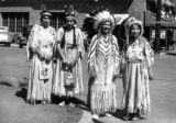 Nez Perce belles participating in the Lewis & Clark Centennial at Lewiston