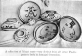 A collection of Moqui ware - very distinct from all other pueblo pottery both in form and...